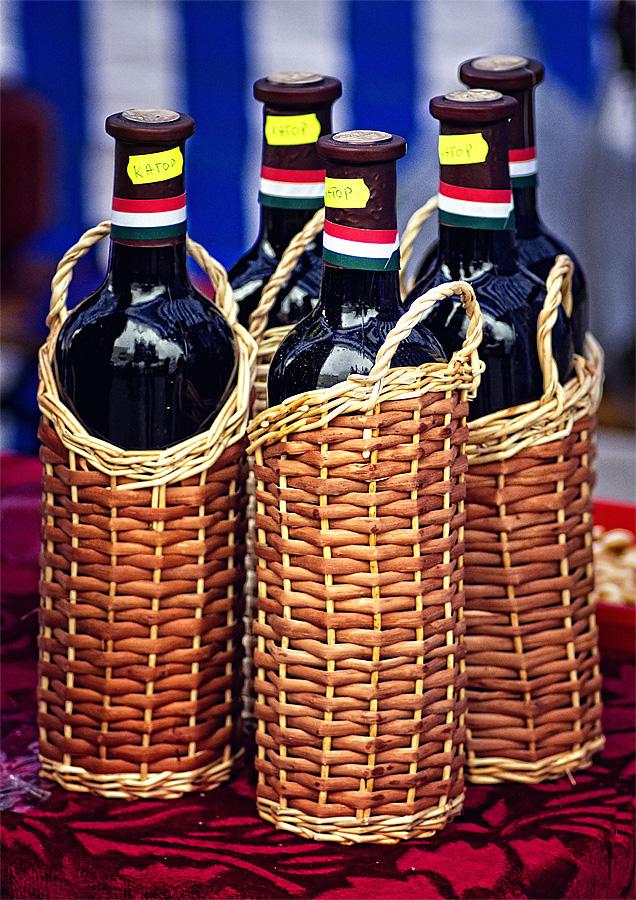 бутилки вина
