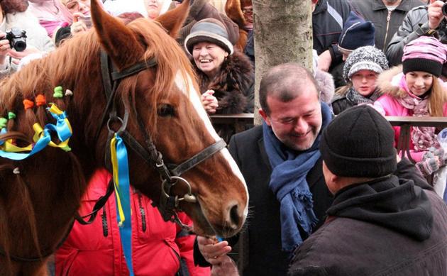 кінь подарунок фестивалю в мукачево