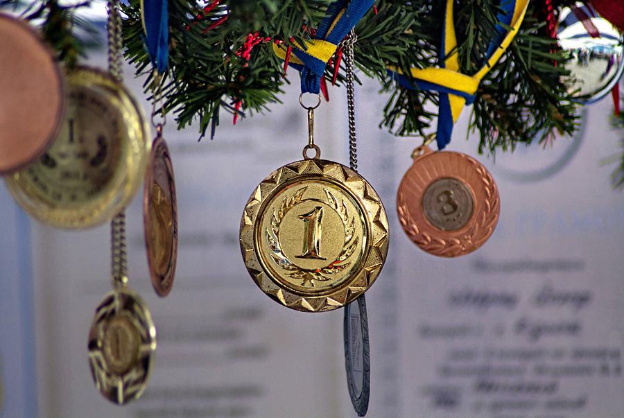 медалі переможців фестивалю